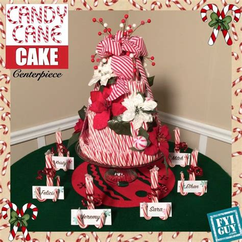 christmas arangemts fyi cake centerpiece rabe projects cake centerpieces canes