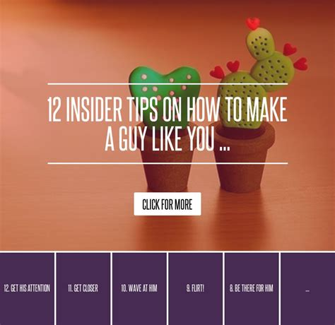 12 Insider Tips On How To Make A Like You 12 insider tips on how to make a like you