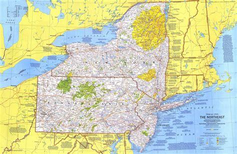 map northeast usa northeast usa map 1978 maps