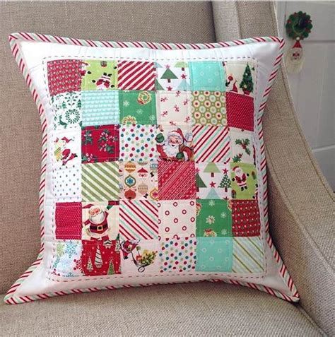 Patchwork Projects Free - everyday celebrations simple patchwork pillows free pattern