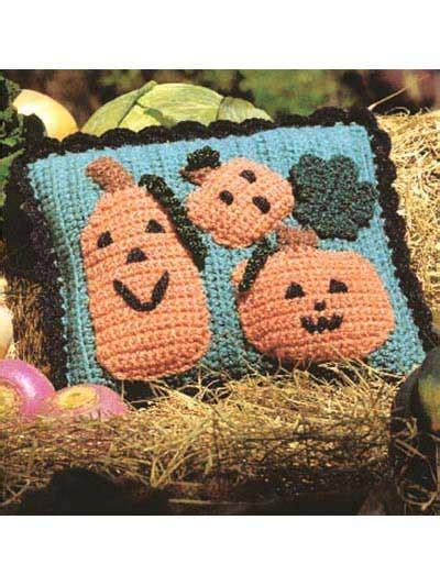 Pumpkin Pillow Pattern by Crochet For The Home Pumpkin Patch Pillow