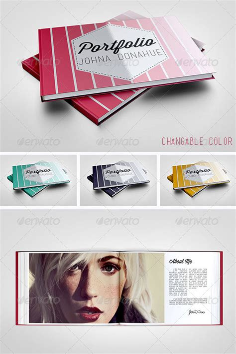 horizontal brochure template 37 creative portfolio brochure design templates print