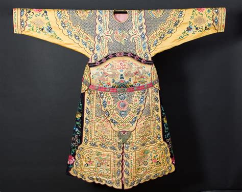 collection  chinese clothing   qing dynasty