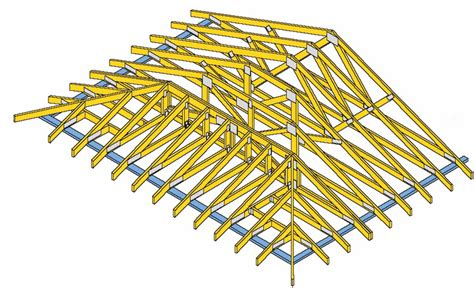 engineered wood floor truss