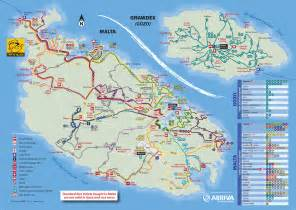 Bus Routes Map by Bus Routes Maltese History Amp Heritage