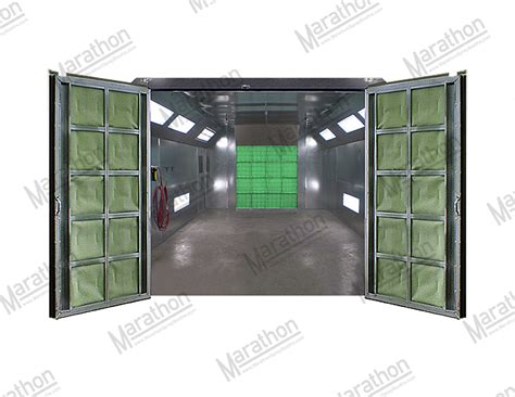 model car tech paint booth design click for larger view automotive refinishing spray paint booth front air flow