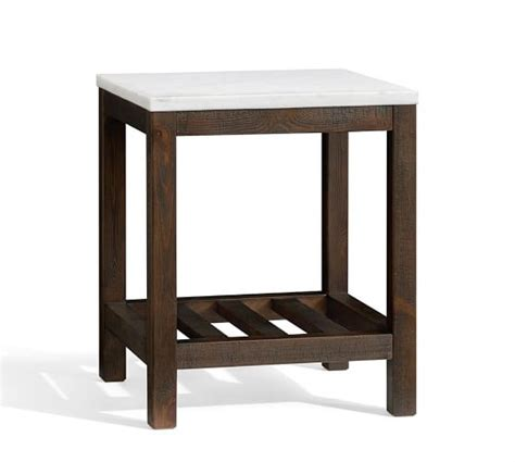 Pottery Barn Connor Coffee Table Connor Side Table Marble Pottery Barn