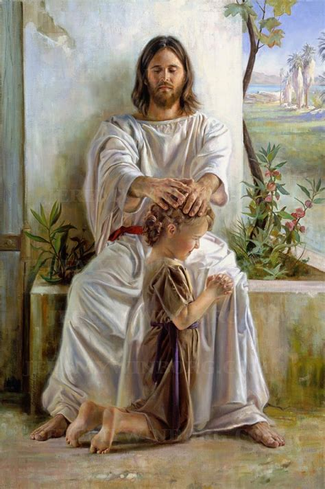 imagenes de dios bendiciendo he blessed them one by one gicl 233 e print beautiful one