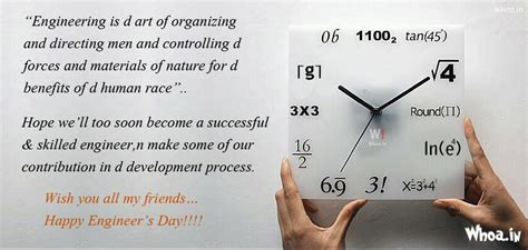 engineering day quotes images  world clock