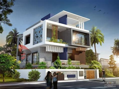 Bungalo we are expert in designing 3d ultra modern home designs