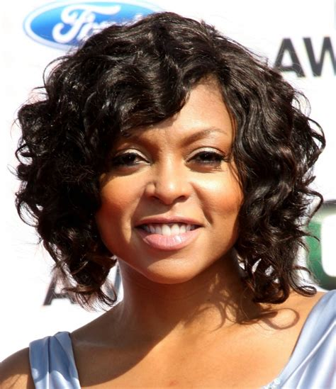 What Type Of Hair Does Taraji Henson Weave | 31 short curly hairstyles designs ideas haircuts