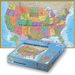 us map and puzzles usa map jigsaw puzzle puzzlewarehouse