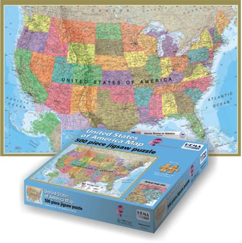 usa map puzzle usa map jigsaw puzzle puzzlewarehouse