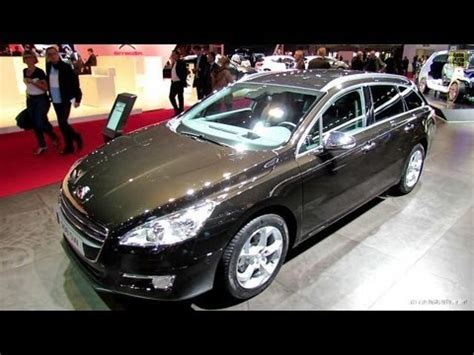 peugeot 508 interior 2013 2013 peugeot 508 sw exterior and interior walkaround