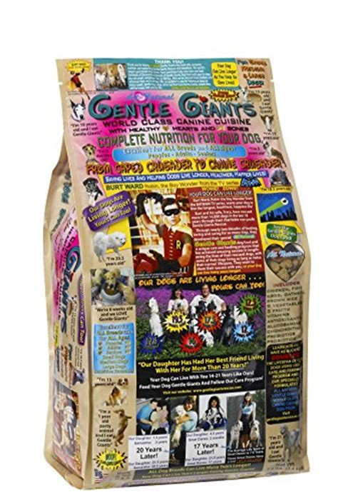 gentle giants food gentle giants food 7 5 lbs beverages tobacco items fruits vegetables