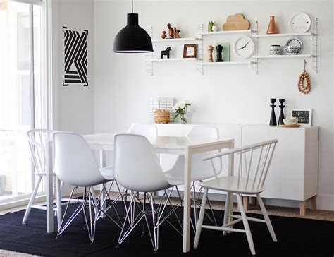 Black And White Dining Rooms by How To Use Black To Create A Stunning Refined Dining Room