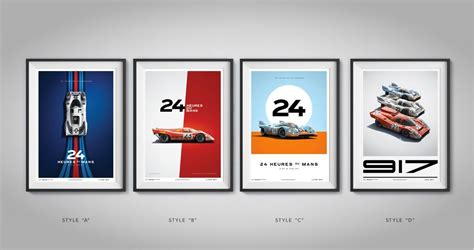 Porsche Poster by Porsche 917 Posters Unique Limited Poster