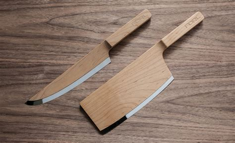 Maple Wood Kitchen Knives   HUH.