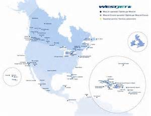 Westjet Route Map by Westjet Tickets 20 Roundtrip For Two Anywhere Westjet