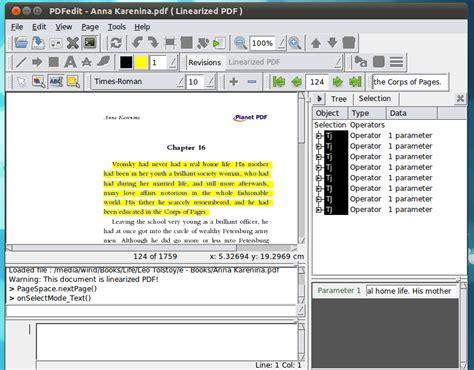 ubuntu layout editor pdfedit a powerful pdf editor for ubuntu linux