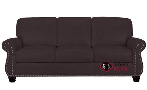victoria leather sofa victoria leather sofa by leather living is fully