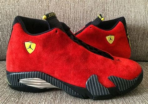 Jordan 14 Ferrari by Air Jordan 14 Retro Quot Ferrari Quot Sneakernews