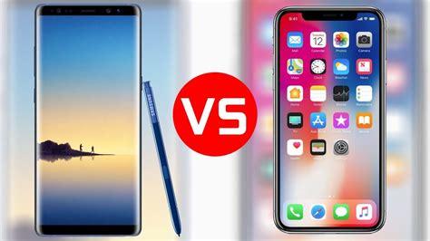 iphone x vs samsung galaxy note 8 techmakroti