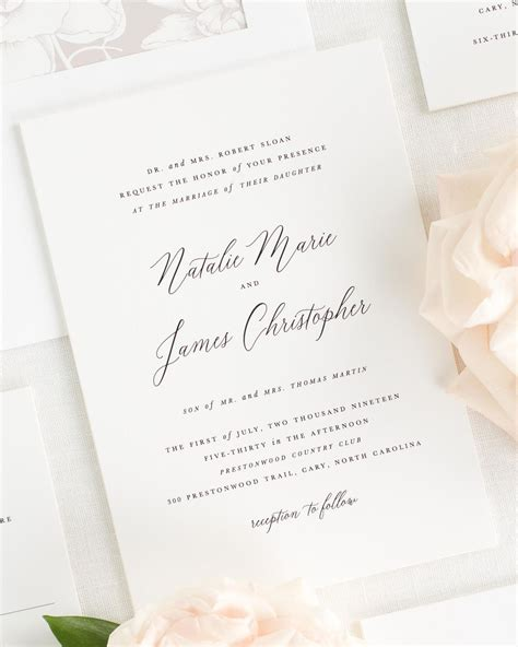Wedding Invitation Collections by Natalie Wedding Invitation Collection Shine Wedding