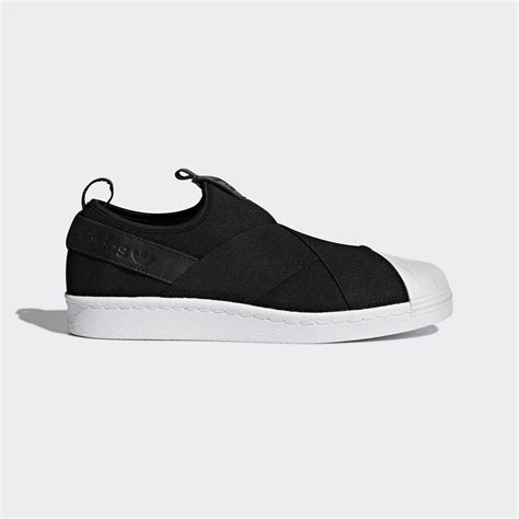 Slip This On by Adidas Superstar Slip On Shoes Black Adidas Uk