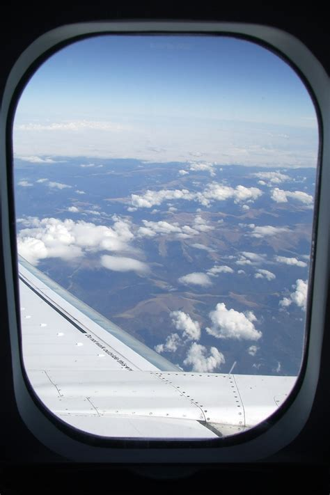 airplane window seat view view trough airplane window in flight products i