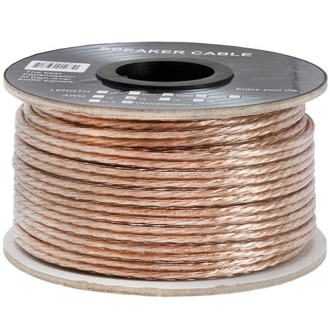100 ft tv cable wire speaker wire cable 14 high quality car home theater