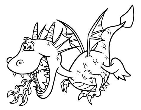 dibujos para colorear de dragon city dibujo de drag 243 n echando fuego para colorear dibujos net