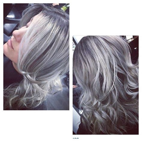 coloring hair gray trend name 16 ways to rock the gray hair color trend
