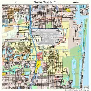 dania florida map 1216325