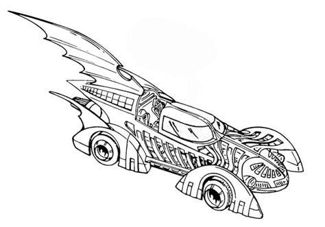 batman cars coloring pages coloriage a imprimer batmobile voiture de batman gratuit
