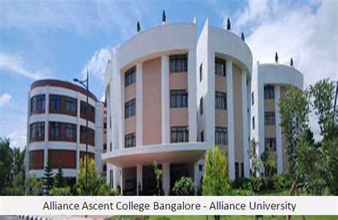 Ramaiah College Bangalore Mba Ranking by Alliance Ascent College Bangalore Mba Alliance