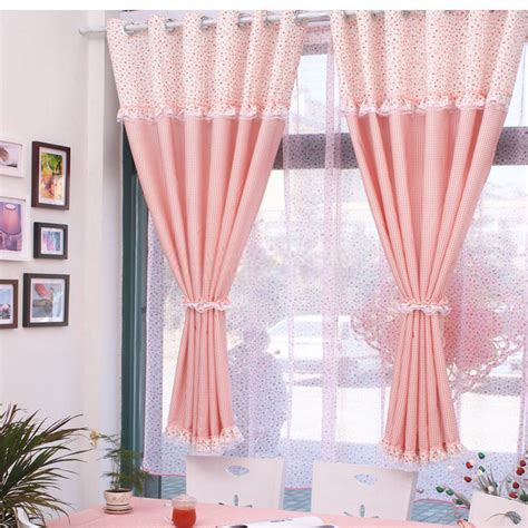 window curtains short plaid bay window or short window curtains for girls