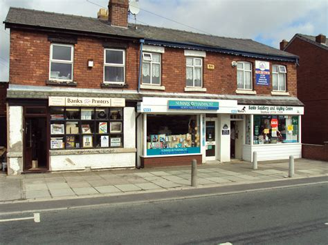 Of Shops by File Shops Church Road Banks Lancashire Jpg Wikimedia