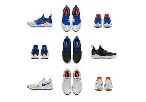 okc colors nikeid pg 1 okc thunder color options sneakernews