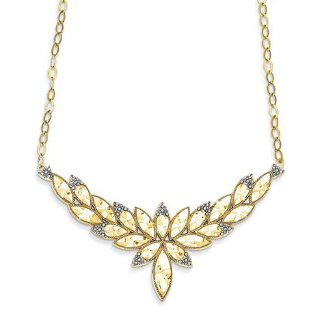 14k gold necklace fancy gold necklace gold neclace