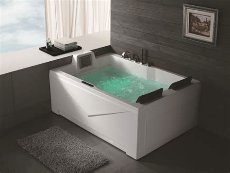 badewannen 2 personen hs bc667 2 person jetted whirlpool bathtubs with tv