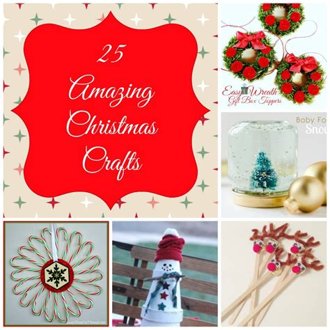25 awesome christmas crafts my suburban kitchen