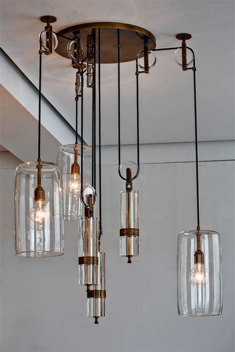 Counterweight Chandelier How One Designer Made A 39 000 Chandelier Inspired By Galileo Wsj