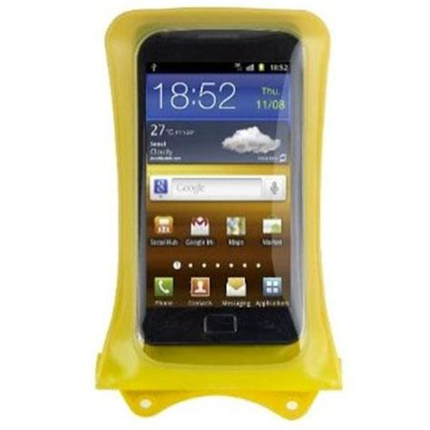 Dicapac Wp C1 Yellow dicapac wp c1 yellow waterproof smartphone for