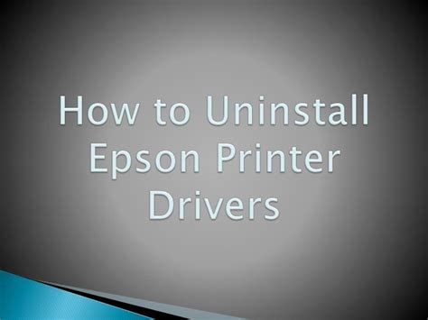 epson printer software download loadfreewellness ppt how to uninstall epson printer drivers powerpoint