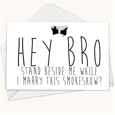 Will You Be My Groomsmen Card Funny Groomsman Card Best Man Card Wedding Card Bridesmaid Will You Be My Best Template