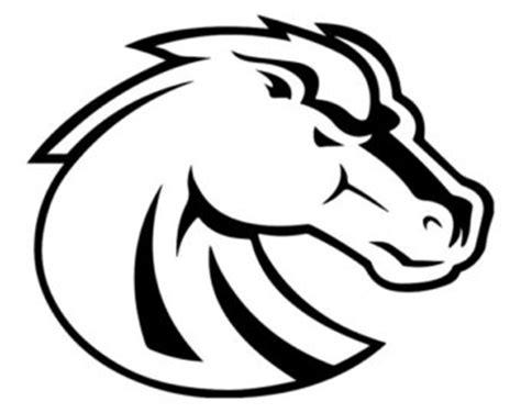 Boise State Coloring Pages boise state logo pages coloring pages