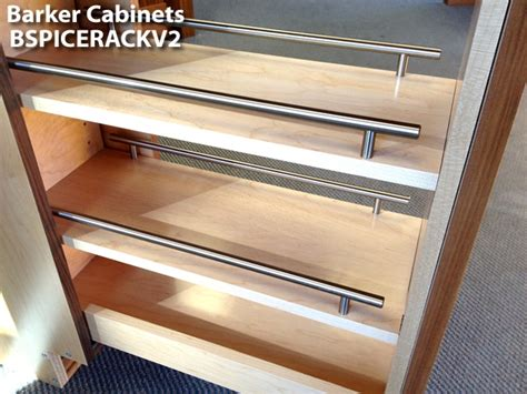 pull out spice rack base cabinet pullout spice rack cabinet