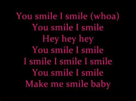 justin bieber u smile lyrics song u smile justin bieber lyrics youtube