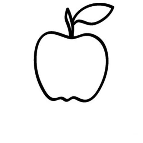 imagenes para colorear una manzana frutas para colorear pintar e imprimir